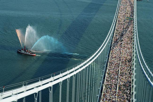 Salida maratón Nueva York